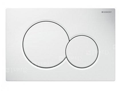 Geberit Sigma 01 115.770.11.5 ovládací tlačítko Alpská bílá
