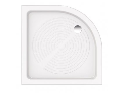 Hopa Elara 90 x 90 x 11,5 cm sprchová vanička čtvrtkruhová keramická