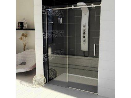 Gelco Dragon GD4611 sprchové dveře 110 x 200 cm čiré sklo