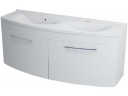 Sapho Julie 59150 umyvadlová skříňka 150 cm bílá