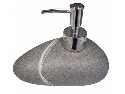 Sapho Little Rock 22190507 dávkovač mýdla na postavení tmavý