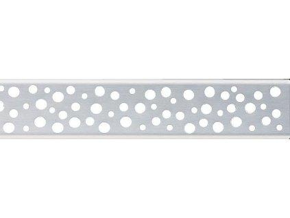 Alcaplast BUBLE-1050M Rošt pro liniový podlahový žlab - nerezový matný