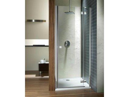 RADAWAY ALMATEA DWJ 30802-01-01N 80 levé 790-810x1950mm sprchové dveře sklo Transparent