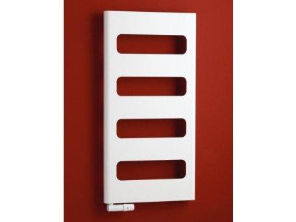 PMH Retro 600 x 1200 mm RTA koupelnový radiátor antracit