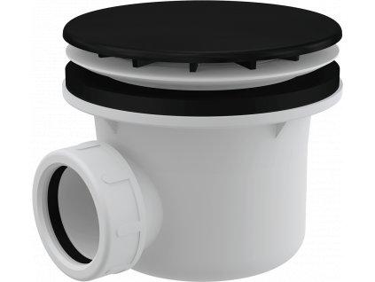 Alcaplast A49BLACK vaničkový sifon černá-mat