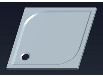 Gelco Karre 80 x 80 cm HQ008 sprchová vanička