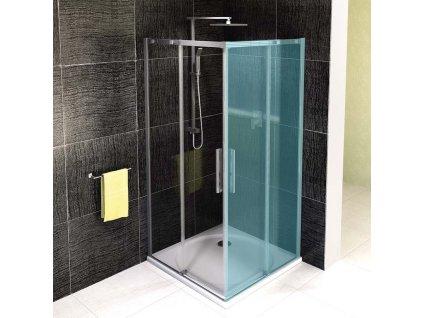 Polysan Altis Line 100 cm AL1510C sprchové dveře