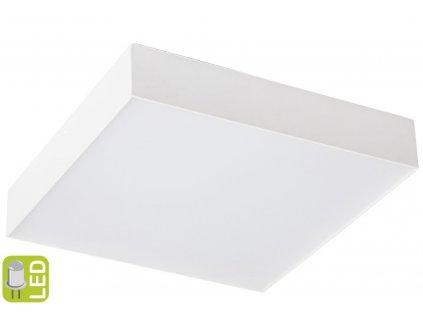 Sapho RISA 30 x 5,5 x 30 cm LS030B stropní LED svítidlo bílé