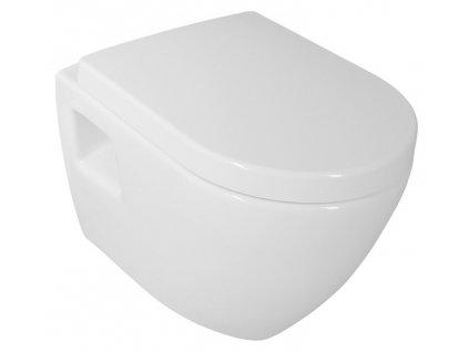 Aqualine Nera NS952 WC mísa závěsná