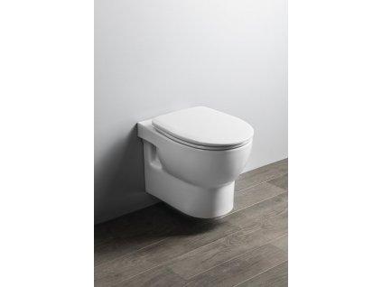 Aqualine Absolute 10AB02002 WC mísa závěsná Rimless