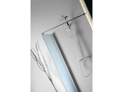 Aqualine Walk-in 70 x 190 cm WI070 zástěna jednodílná