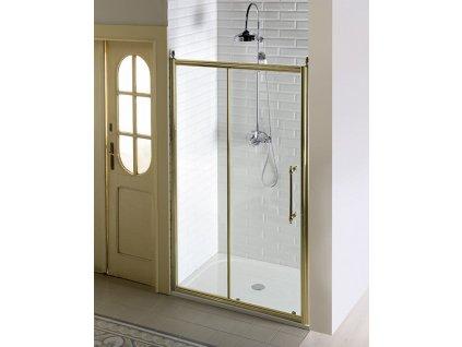 Gelco ANTIQUE 120 x 195 cm GQ4212C sprchové dveře bronz