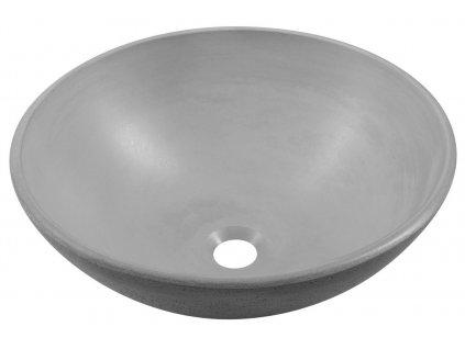 Sapho FORMIGO průměr 41 cm FG009 umyvadlo šedá
