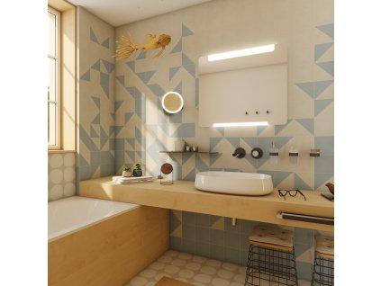 Nimco ZP 22003V 80 x 70 cm LED zrcadlo s dotykovým senzorem