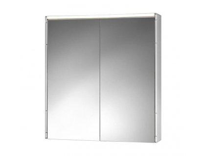 Jokey ALUECO 58 x 14 x 63 cm zrcadlová skříňka - hliník