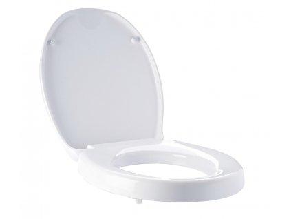 Ridder A0070700 WC sedátko soft close duroplast zvýšené o 5 cm 45 × 37,4 cm