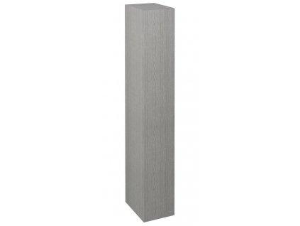 Sapho ESPACE 25 x 172 x 32 cm ESC120-1111 skříňka 1x dvířka levá/pravá dub stříbrný