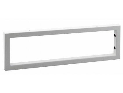 Sapho 490 x 150 x 20 mm 30361 Podpěrná konzole lakovaná ocel bílá mat 1 ks