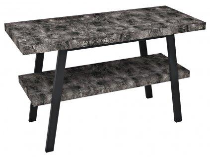 Sapho TWIGA 110 x 72 x 50 cm VC453-110-9 umyvadlový stolek černá mat/štípaný kámen