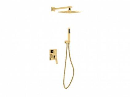 Hopa SLIM ASPIRA II BABPAIIZL podomítkový sprchový set zlatý