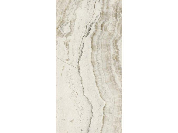 Kutahya Oniks bílá 120x240 cm, lesklý, 55013006RN