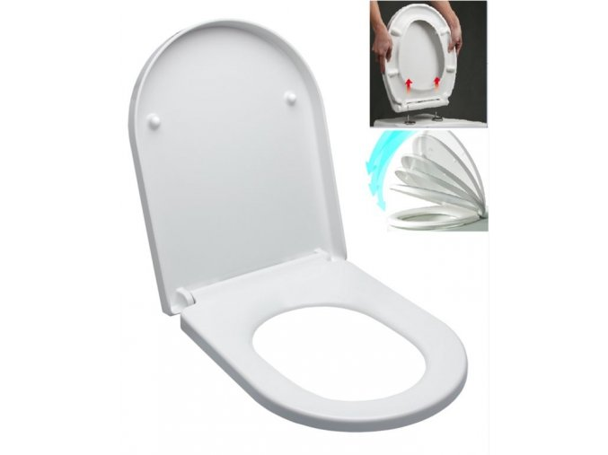 Glacera Easy EASY2244 WC sedátko duroplast, soft close