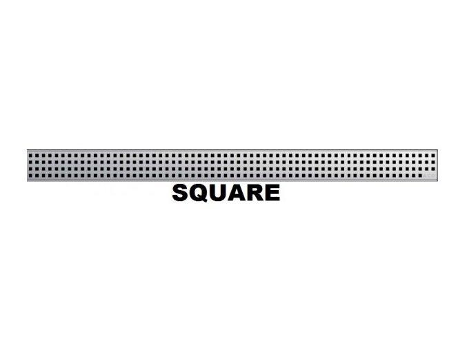 ACO ShowerDrain C985 408567 Odtokový rošt 985 mm, Square