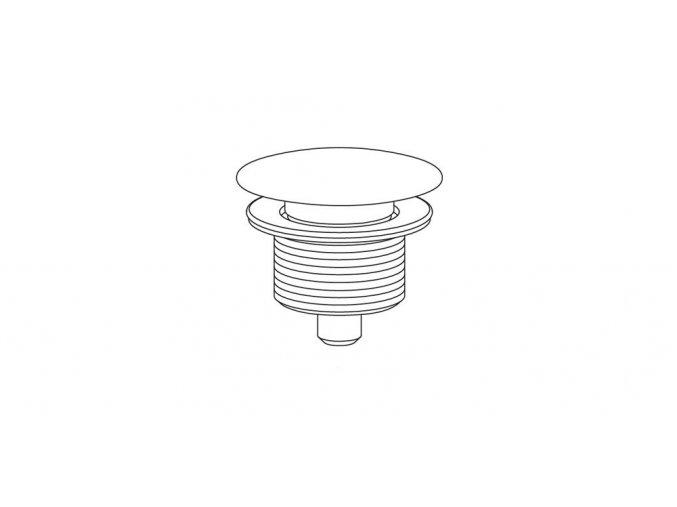 Riho F931990116 Výpusť, click clack BRONI speciál