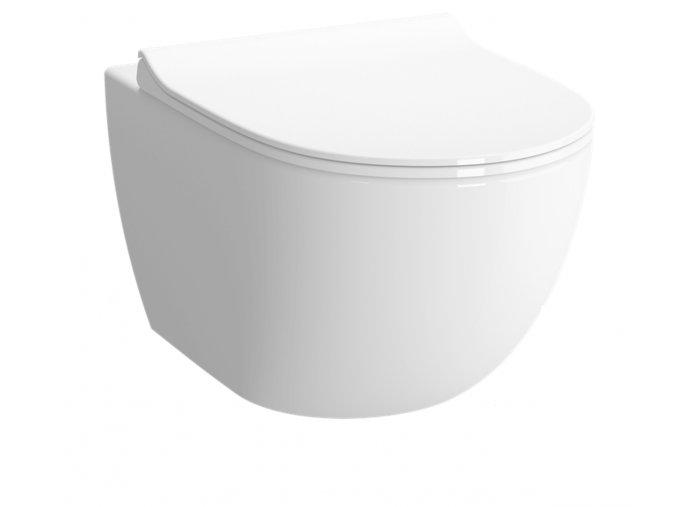 Vitra Shift RN010 WC závěsné zadní odpad, 54 cm
