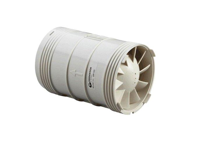 Zehnder Silent ZSRD100T Potrubní ventilátor 100 mm, časovačem