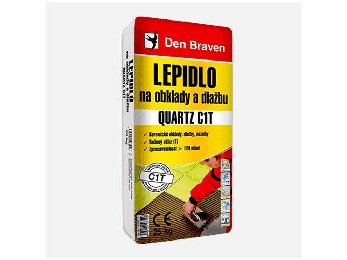 Den Braven Quartz C1T 57103DIST Mrazuvzdorné lepidlo 25kg