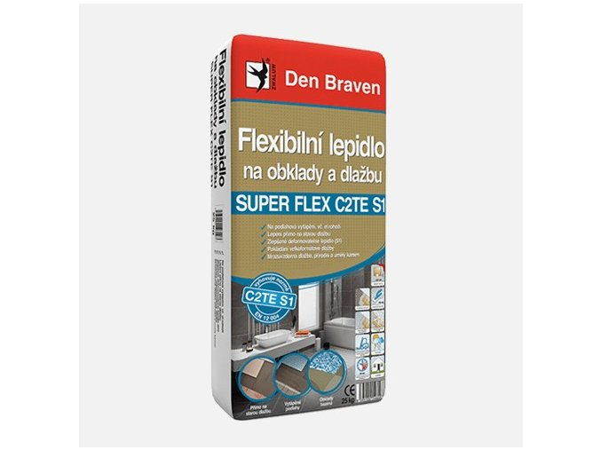 Den Braven SUPER FLEX C2TES1 57103QS1 Flexibilní lepidlo