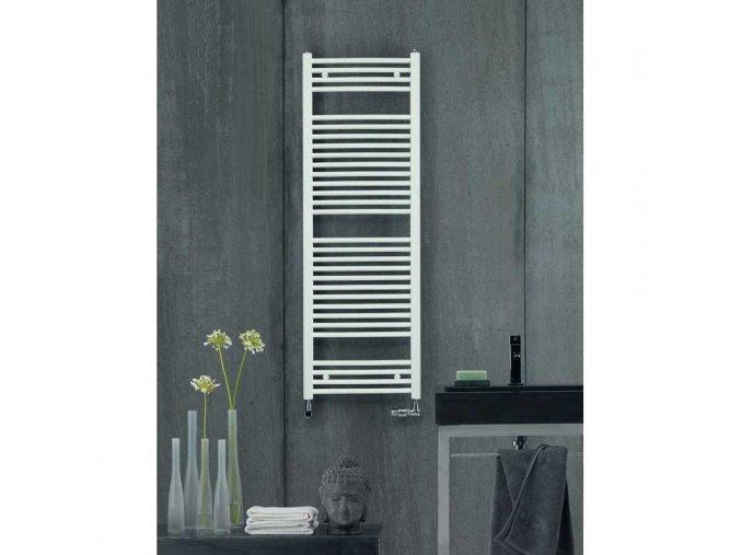 Zehnder Virando Bow ABT 150 060 Koupelnový radiátor bílý