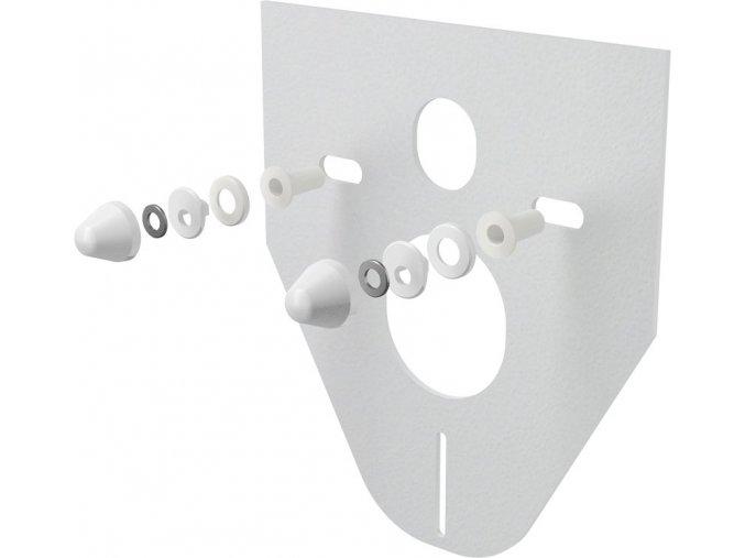 AlcaPlast M910 Izolační deska pro závěsné wc:bidet, bílá