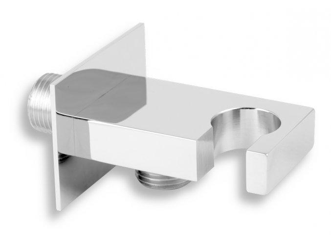 Novaservis D:KVADRO,0 Stěnový vývod s držákem sprchy 1:2%22