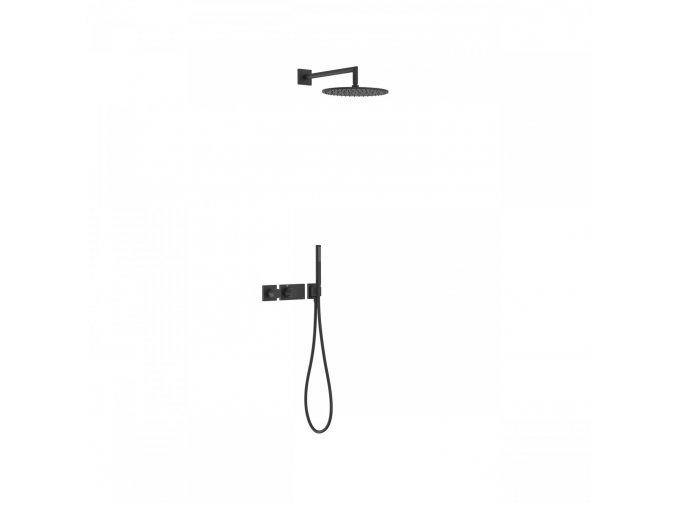 Tres BLOCK SYSTEM 20735201NM Termostatický sprchový set
