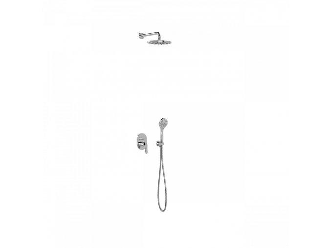BASE TRES PLUS 21698001 Podomítkový sprchový set, regulace