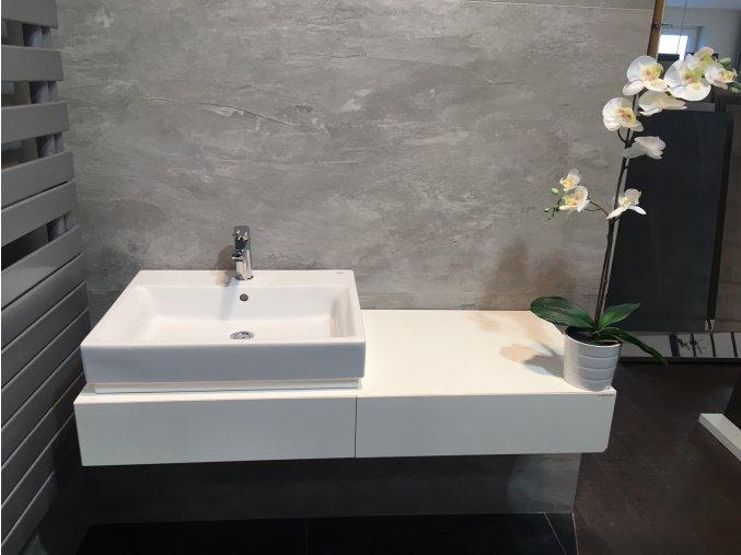 Lebon Spaces S120L.RAL Spodní skříňka, 120x50x16 cm, bílá