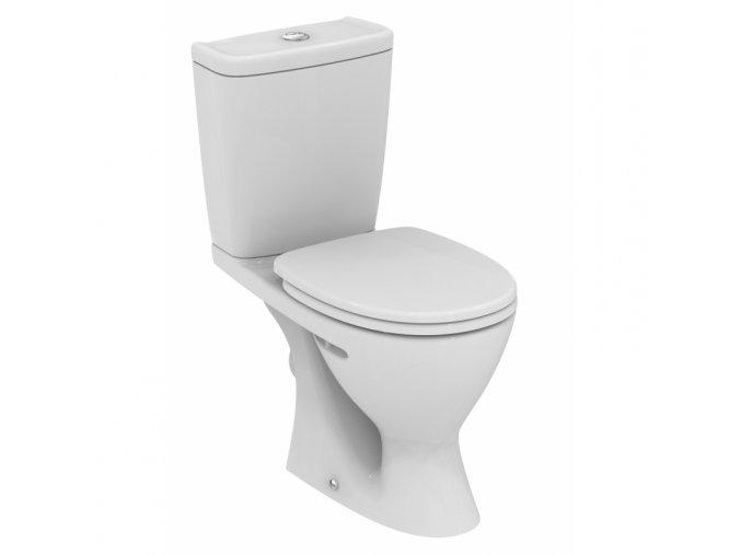 Ideal Standard Sirius W904301 WC + sedátko 35x63 cm, bílá