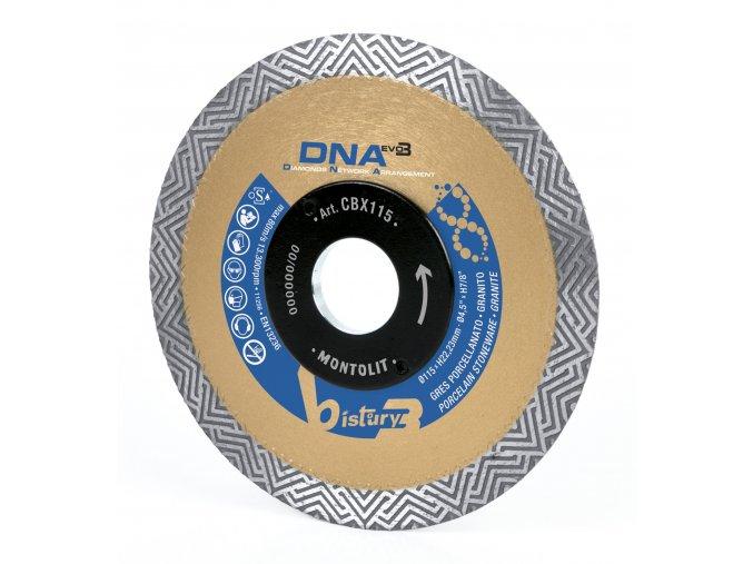 Montolit CBX115 Diamantový kotouč na nejtvrdší keramiku