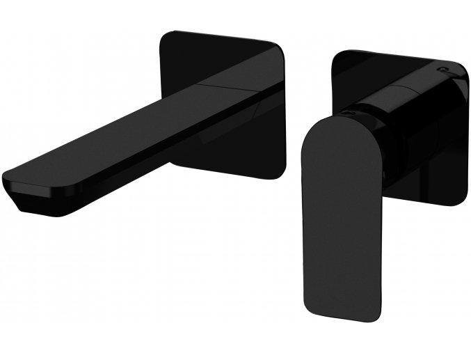 Sanjet INFINITY BLACK I15PNO Umyvadlová podomítková baterie