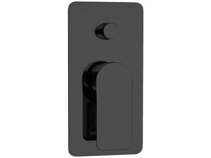 Sanjet INFINITY BLACK I09NO Podomítkový modul dvoucestný