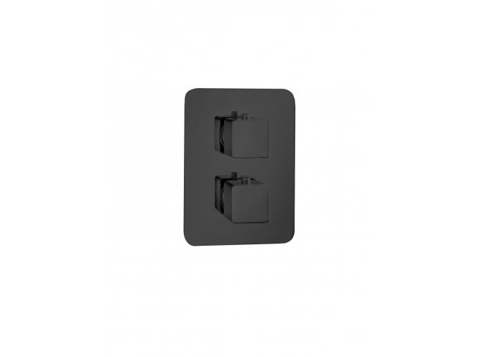 Sanjet INFINITY BLACK E176812B Podomítková termostatická