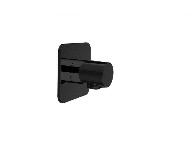 Sanjet INFINITY BLACK E095038B Vyústění sprchy 7x7x4,7cm