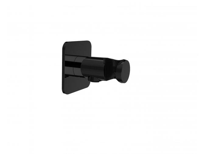 Sanjet INFINITY BLACK E095041B Vyústění sprchy s držákem