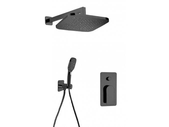Sanjet INFINITY BLACK SETINB Sprchový set, matná černá