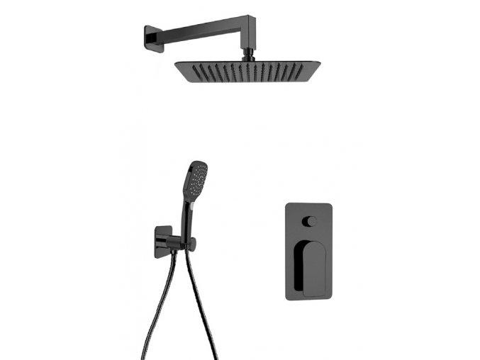 Sanjet INFINITY BLACK SETINB2 Sprchový set, matná černá