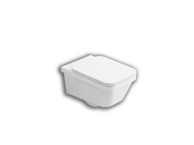 Hatria Erika Pro Q YXJ0 Závěsné WC se sedátkem SoftClose