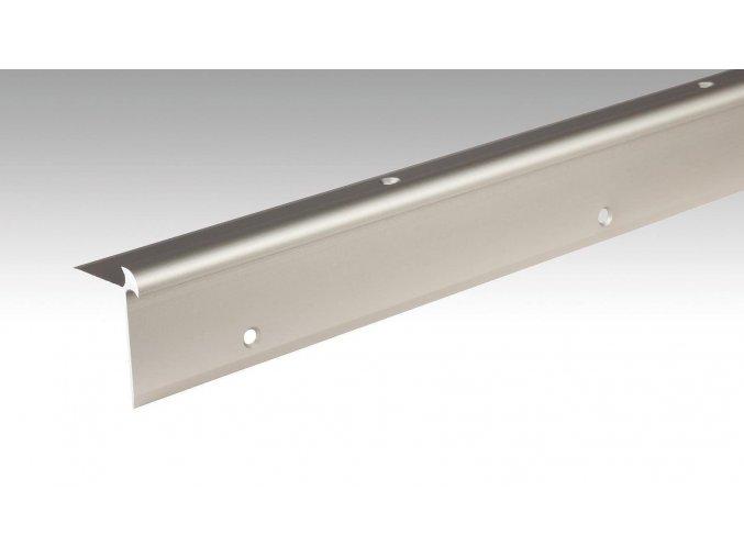 Meister Schodový profil 5 až 6 mm, nerezová ocel, 270cm