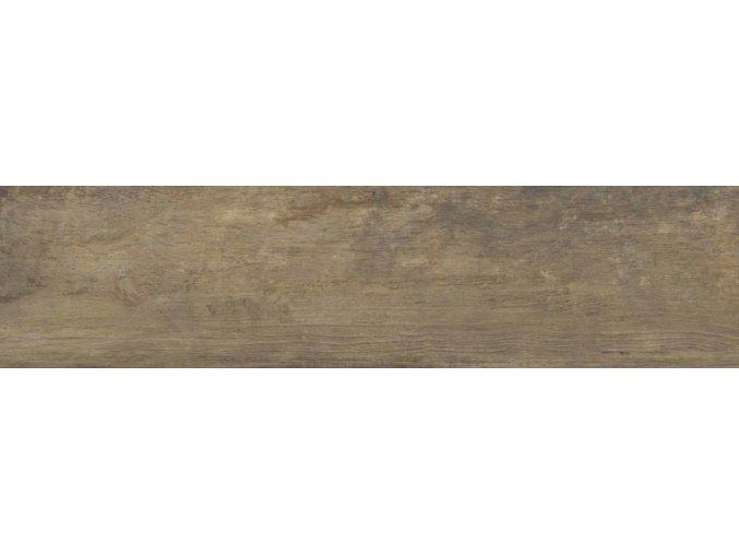 Ecoceramic TEAK Dlažba 2cm, dřevo Roble, 30,5x121x2cm